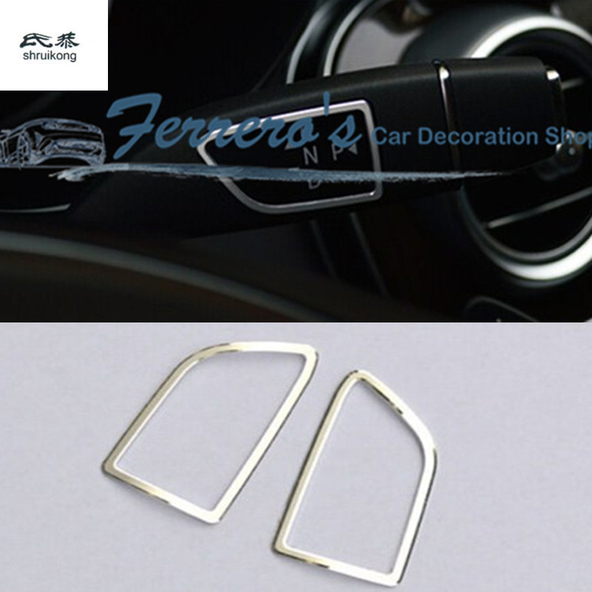 Free shipping car styling stickers Shift Lever and wiper Lever For Tesla MODEL S X high quality