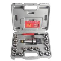 17 Pcs Precision Milling Chuck Set NT40 OZ25 M16 Collet Chuck 7 24 ISO40 CNC Tool