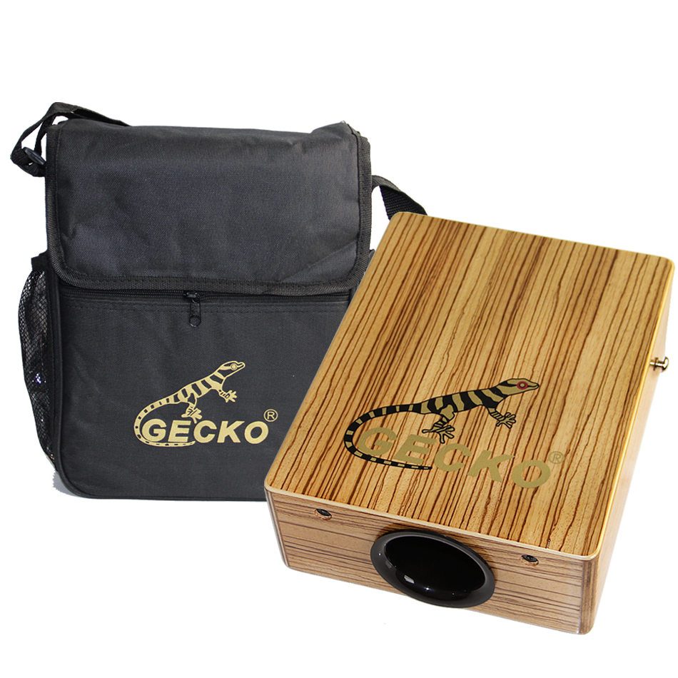 GECKO C-68Z Cajon Box Drum dengan Drum Bag & Drum Strap / Percussion Instruments