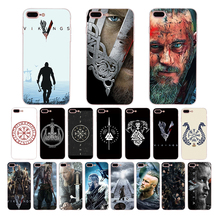 Soft Phone Case For iPhone X XS MAX XR 7 8 6 6s puls cover 5s 5 se vikings serie Silicone shell 10 fitted cool cases Coque Funda