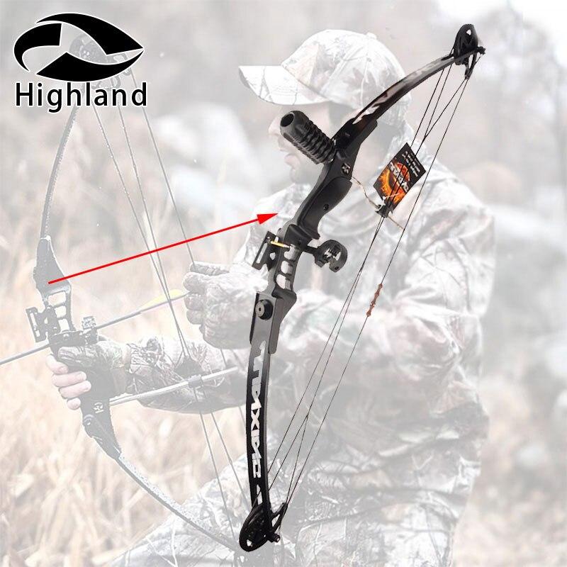 Tir à l'arc Chasse 30-40 LBS Composé Bow Right Hand Réglable Arc Ensemble pour Tir De Pêche Cible En Plein Air Pratique