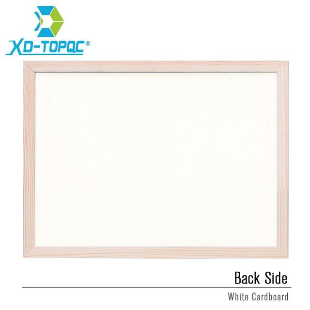 Ordinaire Free Shipping 2018 Natural Bulletin Combination Cork Board And Chalk  BlackBoard Kitchen Office Supplier 30*40cm Home Decorative