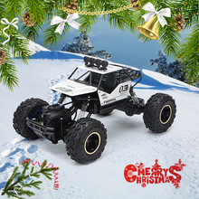 RC Car Christmas gift 1/16 4WD Rock Crawlers 4x4 Driving Double Motors Drive Remote control car model vehicle toy