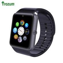 Trozum gt08 smart watch smartwatch reloj bluetooth sync notificador tarjeta sim soporte de conectividad bluetooth para ios android teléfono