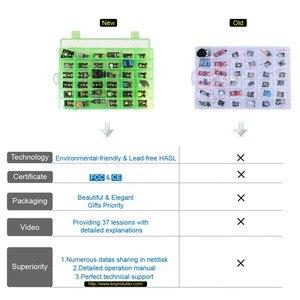 Image 2 - Nowe opakowanie! Keyestudio37 w 1 zestaw do arduino nauki programowania (37 sztuk czujniki) + 37 projektów + PDF + wideo