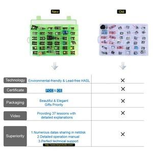 Image 2 - 새로운 포장! arduino 프로그래밍 교육 (37pcs 센서) + 37 프로젝트 + pdf + 비디오 용 keyestudio37 in 1 센서 키트
