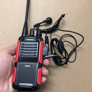 Image 5 - 2pcs Baofeng BF 999S two way radio 1800mAh li ion battery 16CHl easy to operate Interphone Tansceiver for Security walkie talkie