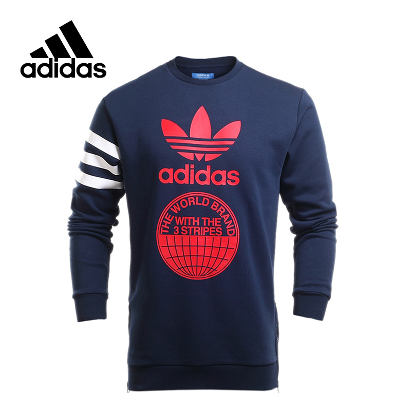 New Arrival 2017 Original Adidas Originals STREET GRAPH CR Men's Pullover Jerseys Sportswear adidas original new arrival official originals women s hooded pullover jerseys trainning sportswear ay8388 ay8386