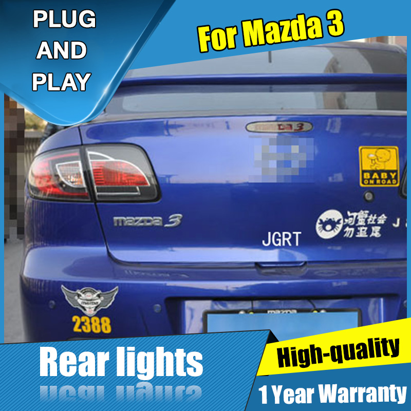 car styling For Mazda 3 taillight assembly 2006 2012 for Mazda 3 rear lights dedicated car