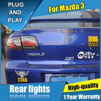 car styling For Mazda 3 taillight assembly 2006 2012 for Mazda 3 rear lights dedicated car light led taillight light with 4pcs.