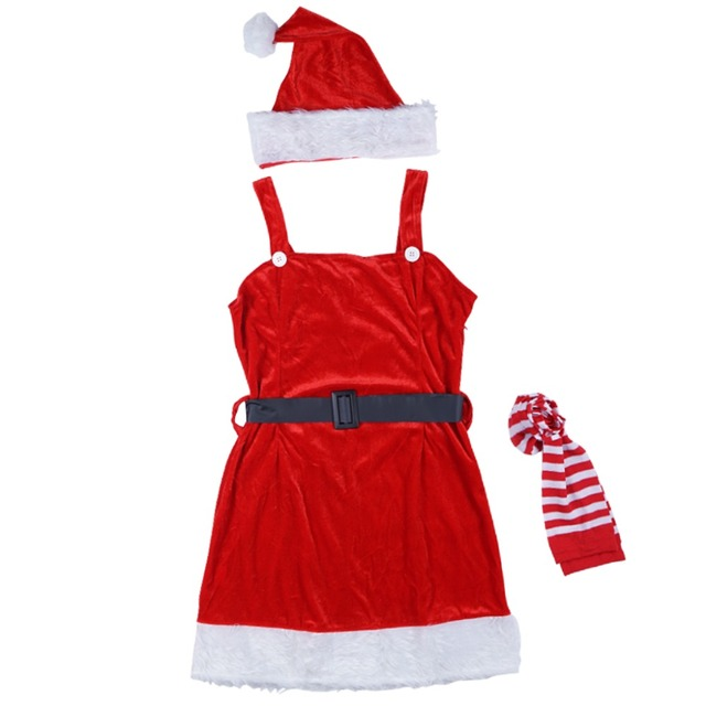 Women Christmas Costume Lady Red Christmas Dress Mean Girls