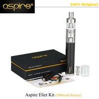 Originale Aspire Meccanica E Sigaretta Aspire Elite Kit con 5 ml Grande Atomizzatore Atlantis Serbatoio 3000 mAh Batteria vape Kit vs Eleaf