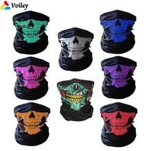 0ec7a81c1c12 Halloween Masque Festival Masques de Crâne Squelette Extérieur Moto Vélo  Multi Fonction Cache-Cou Fantôme