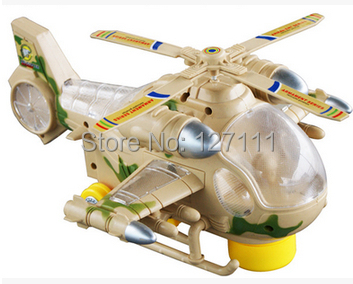 New electric universal  blazing Armed forces helicopter/ super cool plane toys/  electric toys for children with flash lights