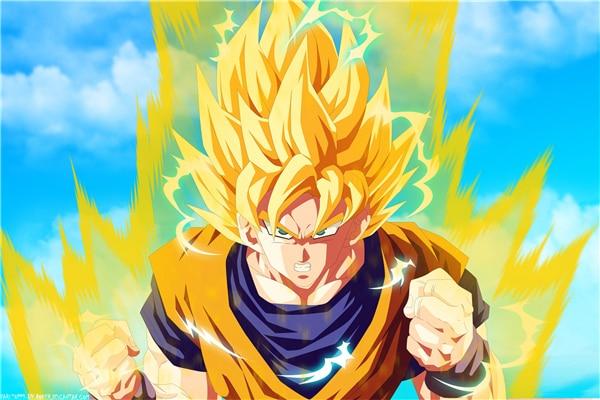 Dragon Ball Posters Dragon Ball Z Stickers Anime Goku Super Saiyan