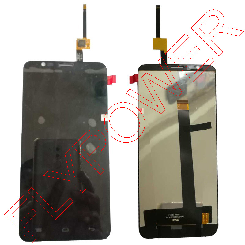Pour TCL S720 LCD screen display avec écran tactile digitizer assemblée noir par livraison gratuite; 100% garantie