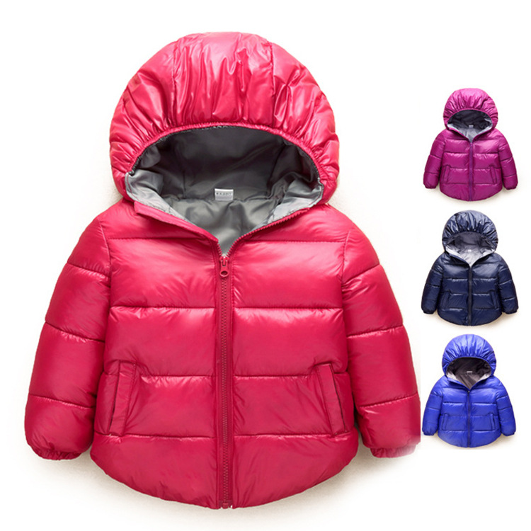Baby Boys Jacket 2017 Autumn Winter Jackets For Girls Warm Jacket Kids Infant Coat Hooded Children Outerwear Coats Clothes children winter coats jacket baby boys warm outerwear thickening outdoors kids snow proof coat parkas cotton padded clothes