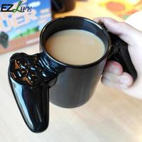 1 יחידות Creative Gamepad בקר ספל קפה כוס חלב ספל קפה ספל ילד משחק תה לחיצת יד מתנות חידוש אישיות CRM5068