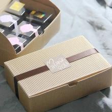 Gift Box Packaging DIY Paper Craft Kraft Cake Boxes Moon Cake Paper Box Gift Cookie Food Packaging Mooncake Packaging