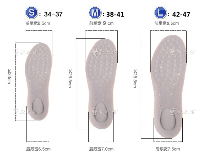 3rd Generation Unique Design Hiking Running Athletic Shoe Insoles Forefoot Heel Gel Absorbers Men Anti-Shock Sport Foot Pads New (9)
