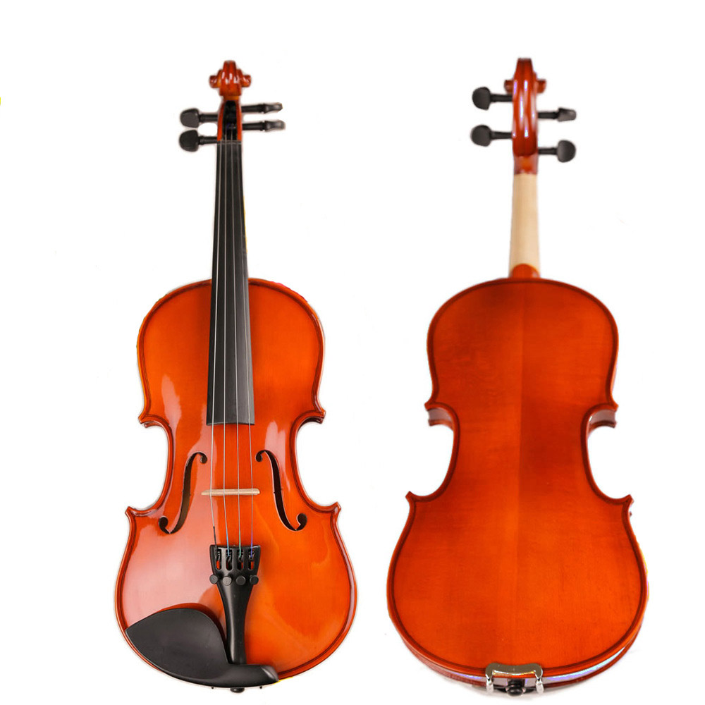 Acoustic Violin 4/4 3/4 1/4 1/8 Natural Fiddle handcraft Violino With Case Mute Bow High-Grade Manual Oil-Based Paint Pattern Acoustic Violin 4/4 3/4 1/4 1/8 Natural Fiddle handcraft Violino With Case Mute Bow High-Grade Manual Oil-Based Paint Pattern