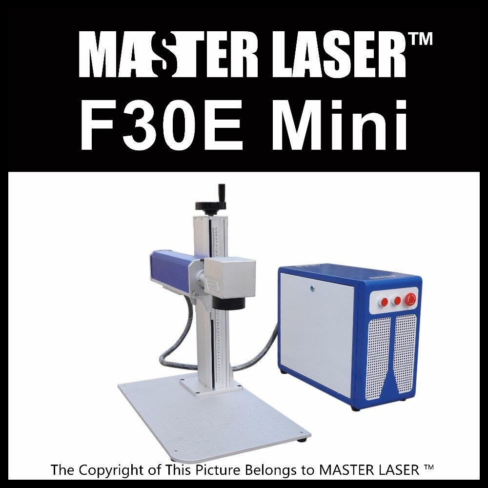 Lower Price 30W Fiber Portable Laser Bracelet Engraving Machine for Metal and Plastic