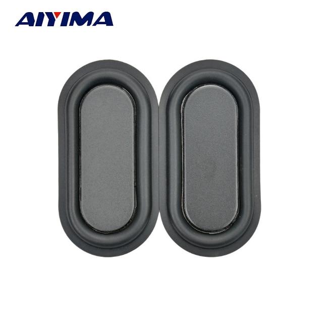 Aiyima 2pcs 40*80 strengthen bass vibration membrane/plate vibrator radiator speakers