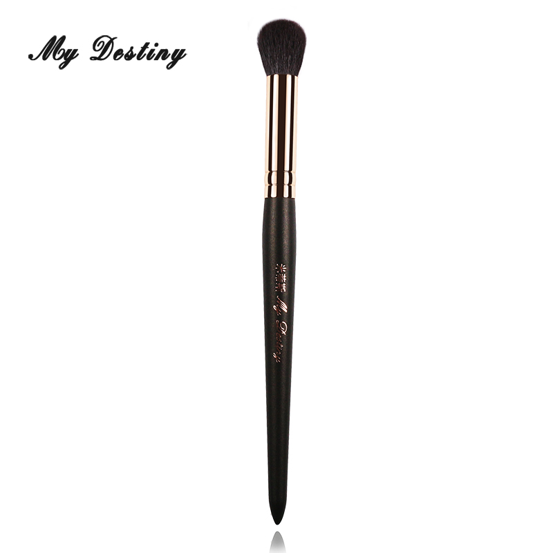 MY DESTINY Goat Hair Round Highlighter Brush Makeup Make Up Brushes Pincel Maquiagem Brochas Maquillaje Pinceaux Maquillage 033 energy brand weasel small eyeshadow contour brush make up makeup brushes pinceaux maquillage brochas maquillaje pincel m108
