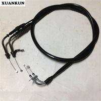 XUANKUN Motorcycle Accessories ZY125T 4A ZY125T 3 Carburetor Double Throttle Line Pull