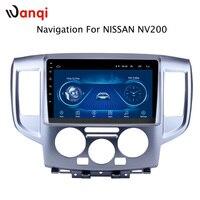 9 дюймов Android 8,1 2.5D Закаленное HD Сенсорное радио для Nissan NV200 2014 2018 с Bluetooth USB wifi Поддержка SWC