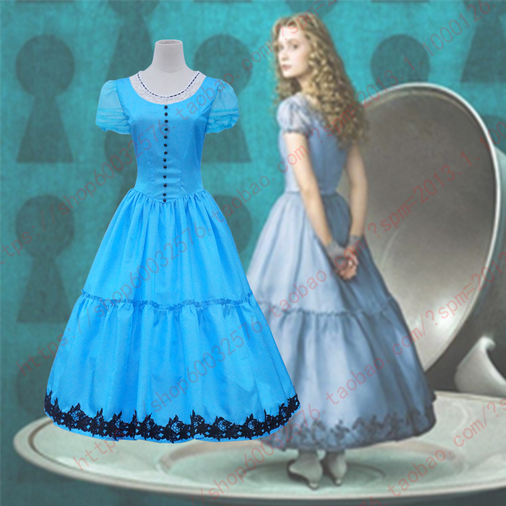 Through the Looking-Glass,role  Cosplay princess dance party Costume Dress