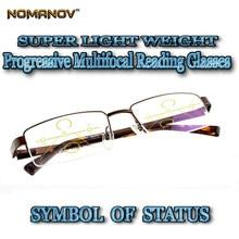 11534ebbe Multifocal progressiva fotocromáticas Óculos de Leitura do Desenhador da  liga Almg Ultraleve Negócio ocasião Ver Próximo N Dista.