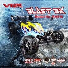 VRX Racing voiture rc électrique tout terrain sans balais, 4WD, échelle 1/8, moteur RTR/60a ESC/3650/11.1V, 3250mAH, batterie Lipo, 2.4GHz