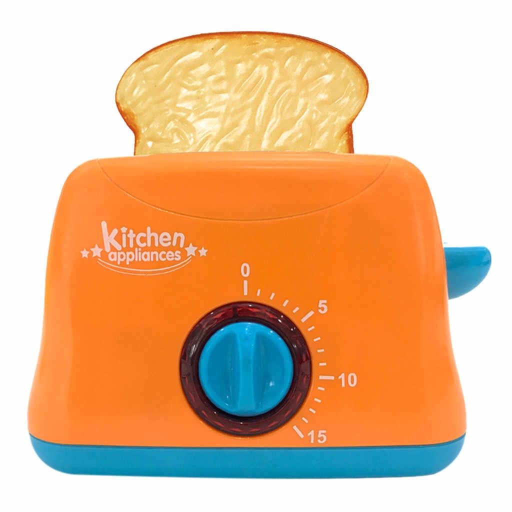 Aletleri çocuk oyun ev aletleri tost vakum ocak eğitim mutfak oyuncak seti çocuklar için kız oyuncak