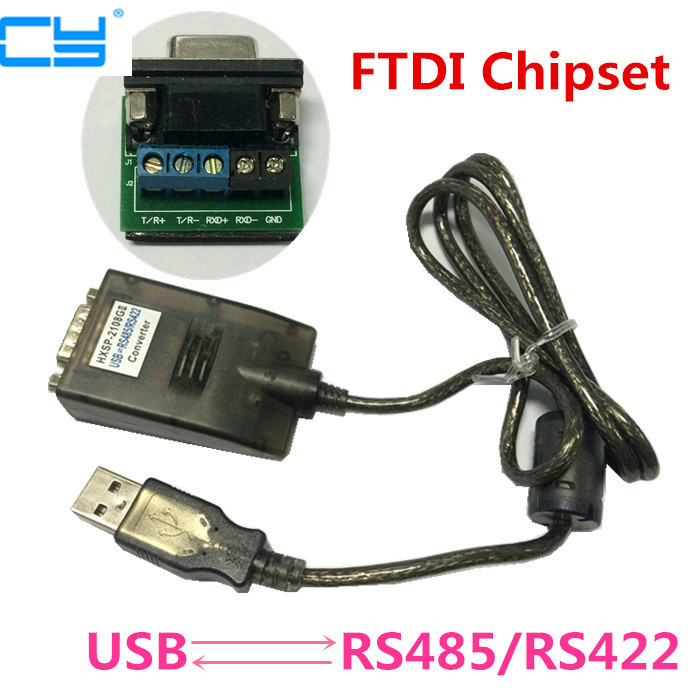High Quality 1PCS USB 2.0 to RS485 RS422 RS-485 RS-422 DB9 Serial Port Device Converter Adapter Cable, FTDI FT232 FT232R FT232RL usb to rs485 rs 422 converter adapter cable