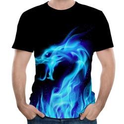 Męskie koszulki 3D drukowane zwierząt małpa tshirt z krótkim rękawem śmieszne projekt na co dzień topy koszulki męskie Halloween t shirt europejska rozmiar 5