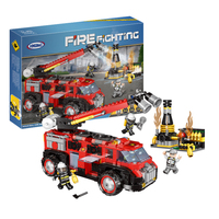 Xingbao Industrial Fire Fighting 14005 And Fire Brigade 14006 early education assembled toys For Children's Gifts