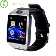 Sograce Smart Watch DZ09 Passometer Sleep Monitoring SMS Watch Call Phone 2 g Women Mens Watches Top Brand Luxury Dropship 425