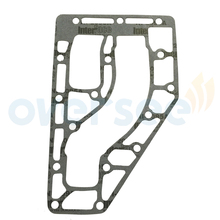 OVERSEE 6F5 41114 01 Gasket Exhaust Outer Cover Replaces For Yamaha 40HP Outboard Engine Old C