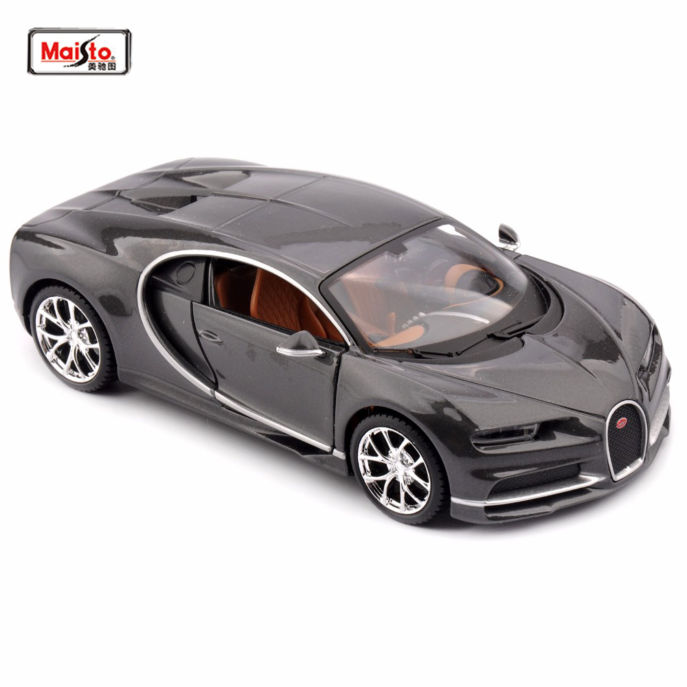 1 24 Kids toys diecast Alloy Maisto 1 24 Diecast Model for Bugatti Chiron Car Vehicles Collection Kids Toy for boys gift in Diecasts Toy Vehicles from Toys Hobbies