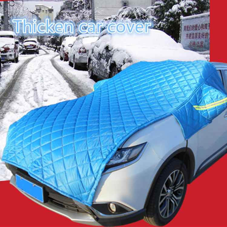 Otley thicken and lengthen car cover,oxford material Snow frost prevention car cover special use forautumn or winter