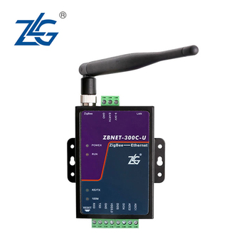 For ZLG Zhiyuan electronic industrial grade ZigBee to Ethernet RJ45 gateway ZBNET-300C-U