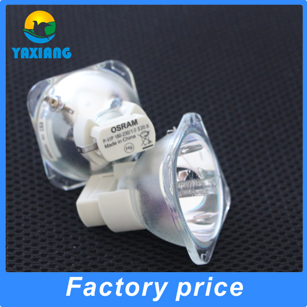 100% Original projector bare lamp bulb  OSRAM P-VIP 180-230/1.0 E20.6 osram p vip 230 0 8 e20 8 projector lamp bulb 230w 100% original