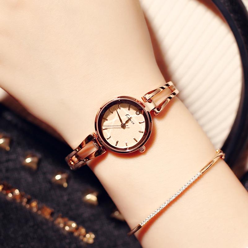 Prix pour 2017 Célèbre Kimio Marque Quartz-montre bracelet femme montres femmes robe Casual horloge de luxe Relogio Feminino avec Boîte-Cadeau