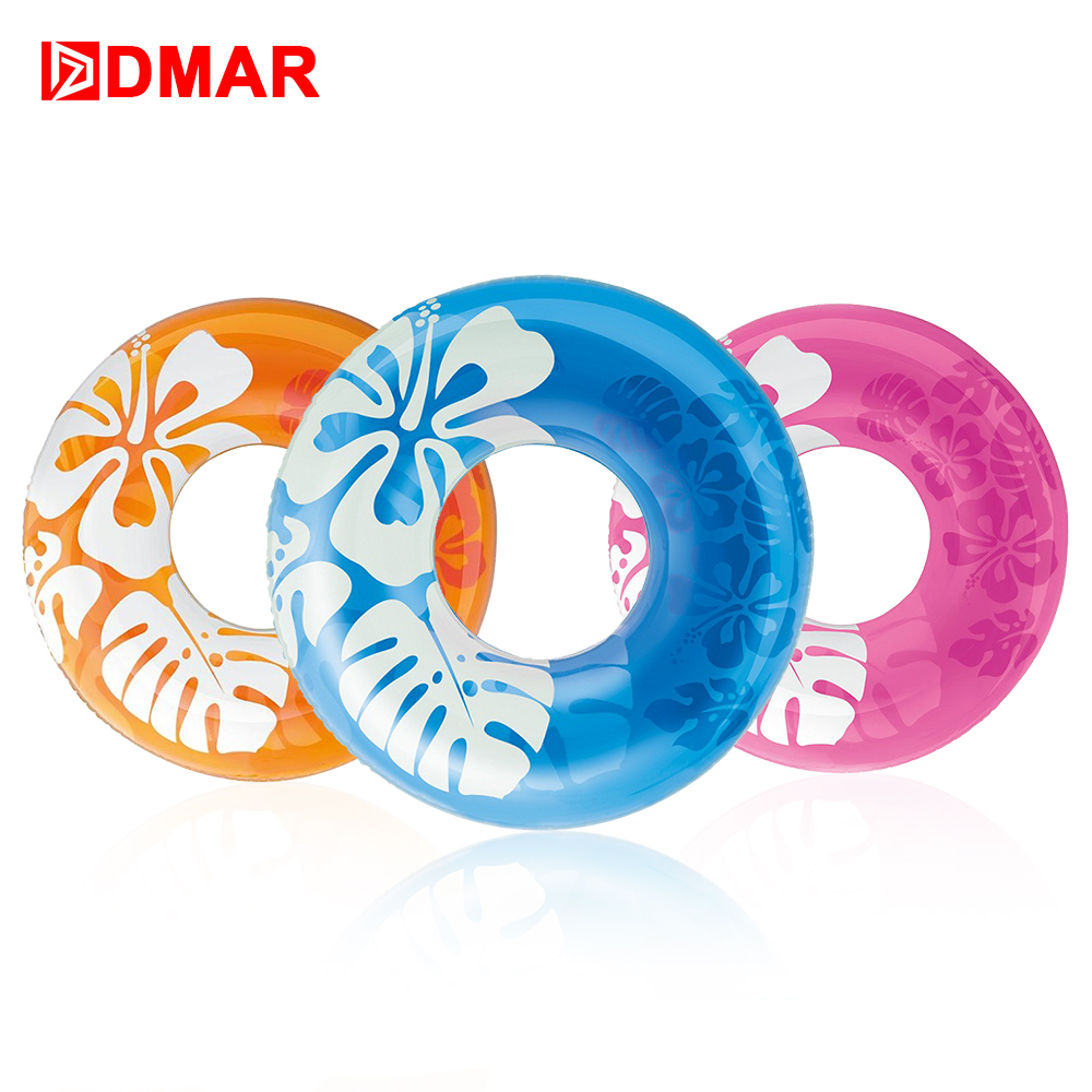 DMAR 91cm 36 Inflatable Swimming Ring Pool Float Toys Inflatable Mattress Beach Lifebuoy Water Fun Party Summer Flamingo Donut