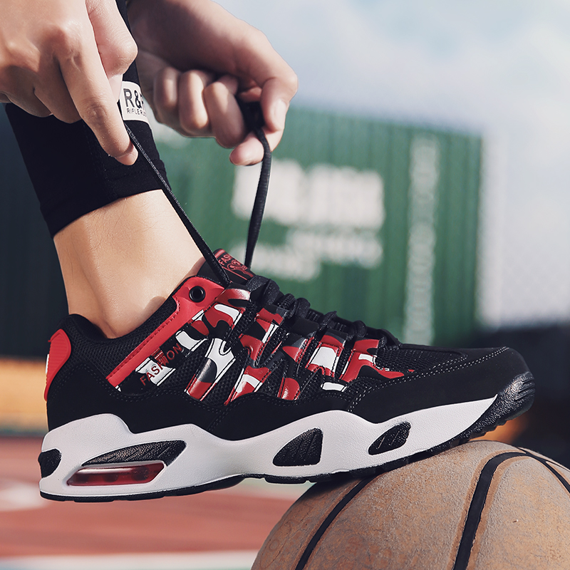 Basket Homme 2019 New Brand Men Women Basketball Shoes Breathable Mesh Sneakers Men Non slip Shoes Tenis Basquete Masculino in Basketball Shoes from Sports Entertainment