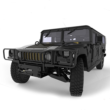 New SUV Jeep Assembled Car Model MENG CS-002 124 Universal H1 Hummer 1 24 00750 assembled model car mclaren f1 gtr 1998 le