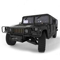 New SUV Jeep Assembled Car Model MENG CS 002 124 Universal H1 Hummer