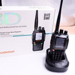 Image 3 - WOUXUN KG 8D בתוספת דו דרך רדיו דיגיטלי Dual Band משדר 999 זיכרון ערוצים UHF/VHF מכשיר קשר חזיר צבע מסך רדיו