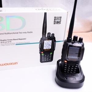 Image 3 - WOUXUN KG 8D plus Two Way Radio Digital Dual Band Transceiver 999 Memory Channels UHF/VHF Ham Walkie Talkie Color Screen radio